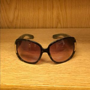 Marc Jacobs Tortoise Oversized Sunglasses
